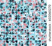geometric pattern design | Shutterstock .eps vector #602060270