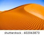 Desert Sand Dune Landscape...