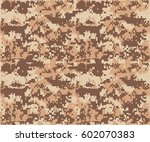 texture military camouflage... | Shutterstock .eps vector #602070383
