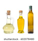set of extra virgin olive and... | Shutterstock . vector #602078480