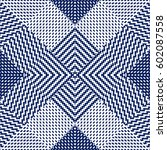 vector seamless pattern ... | Shutterstock .eps vector #602087558