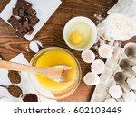cooking brownie cake   Shutterstock . vector #602103449