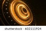 science fiction futuristic 3d... | Shutterstock . vector #602111924