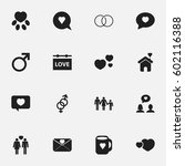 set of 16 editable amour icons. ... | Shutterstock .eps vector #602116388