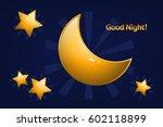 good night   Shutterstock .eps vector #602118899