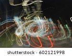 nocturnal light impressions... | Shutterstock . vector #602121998