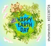 Earth Day. Vector Illustration...