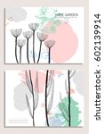 collection of abstract creative ...   Shutterstock .eps vector #602139914