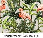 beautiful seamless vector... | Shutterstock .eps vector #602152118