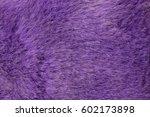 Purple Artificial Fur Texture
