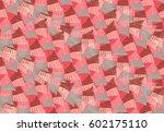 sea shell peaces in wavy...   Shutterstock .eps vector #602175110