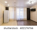 the interior of a small room... | Shutterstock . vector #602176766