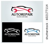 auto repair logo design... | Shutterstock .eps vector #602177114