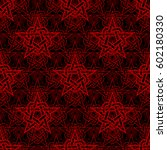 abstract star seamless pattern. ...   Shutterstock .eps vector #602180330