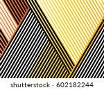 oblique  diagonal lines pattern. | Shutterstock .eps vector #602182244
