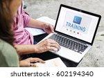 e book online learning...   Shutterstock . vector #602194340