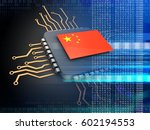 3d illustration of electronic... | Shutterstock . vector #602194553