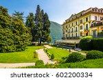 villa d'este  lake como | Shutterstock . vector #602200334