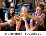 people  leisure  friendship and ... | Shutterstock . vector #602205110