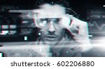 cyberspace  augmented reality ... | Shutterstock . vector #602206880