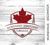 a canadian province crest on a... | Shutterstock . vector #602244524