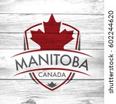 a canadian province crest on a... | Shutterstock . vector #602244620