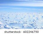 Cumulus Cloudscape View From A...