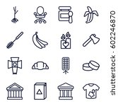 nobody icons set. set of 16... | Shutterstock .eps vector #602246870