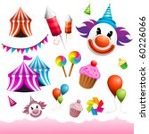 a collection of vector carnival ... | Shutterstock .eps vector #60226066