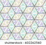 seamless pattern for backgrounds | Shutterstock . vector #602262560