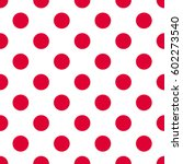 Red Polka Dot  Seamless Patter...