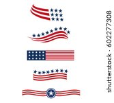 usa star flag logo stripes... | Shutterstock .eps vector #602277308