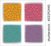 infinite pattern of lines ... | Shutterstock .eps vector #602292440