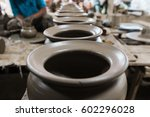 pottery and arts | Shutterstock . vector #602296028