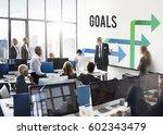business team meeting... | Shutterstock . vector #602343479