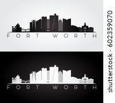 Fort Worth  Usa Skyline And...
