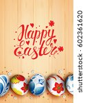 template vector poster with... | Shutterstock .eps vector #602361620