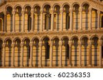 Romanesque Columns And Arches...