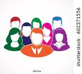 flat modern designn of the... | Shutterstock .eps vector #602371556
