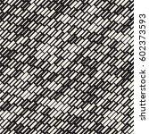 vector seamless black and white ... | Shutterstock .eps vector #602373593