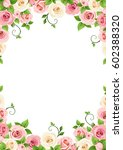 vector background frame with... | Shutterstock .eps vector #602388320