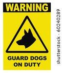 Yellow Black Triangle Warning...