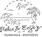traveling horizontal banner... | Shutterstock .eps vector #602410310