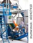 machine packager vegetables in...   Shutterstock . vector #602427410