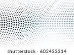 dark blue vector banners set of ... | Shutterstock .eps vector #602433314