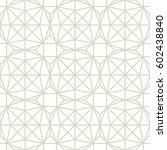 art deco seamless background. | Shutterstock .eps vector #602438840