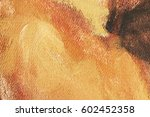 Abstract Art Background. Oil O...