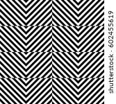 vector seamless pattern.... | Shutterstock .eps vector #602455619