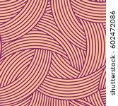 seamless pattern. geometric... | Shutterstock .eps vector #602472086
