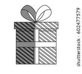 gift box icon | Shutterstock .eps vector #602477579
